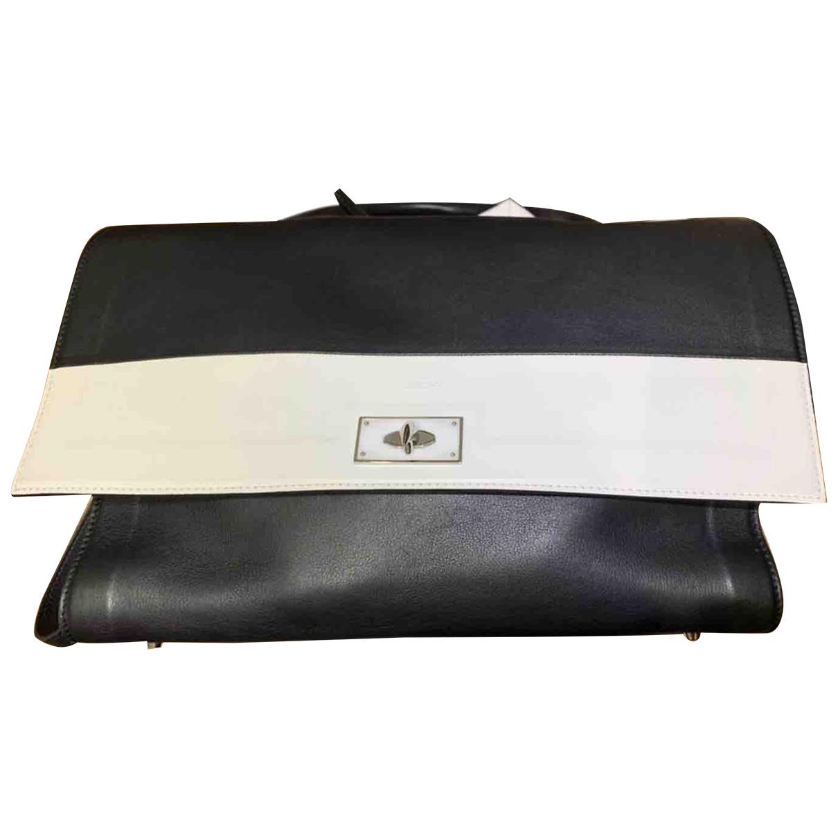 Givenchy - Sac a main Shark pour femme en cuir - noir