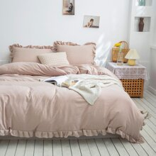 Ruffle Bedding Set Without Filler
