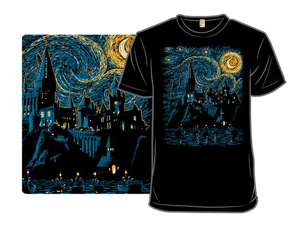 Starry School Of Magic T Shirt