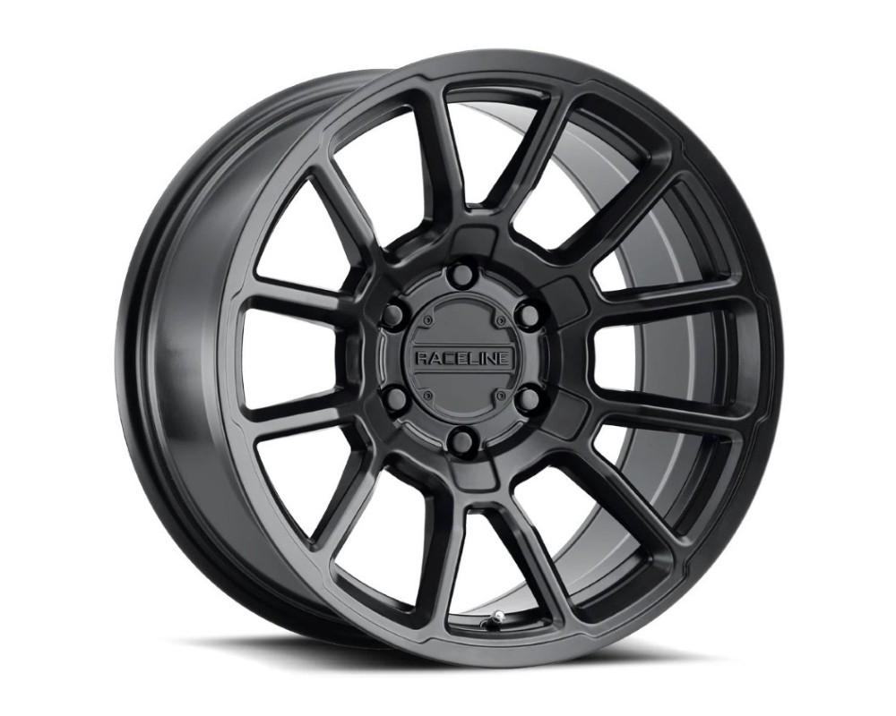 Raceline 950B Gauge Wheel 20x10 5x150 -19mm Satin Black