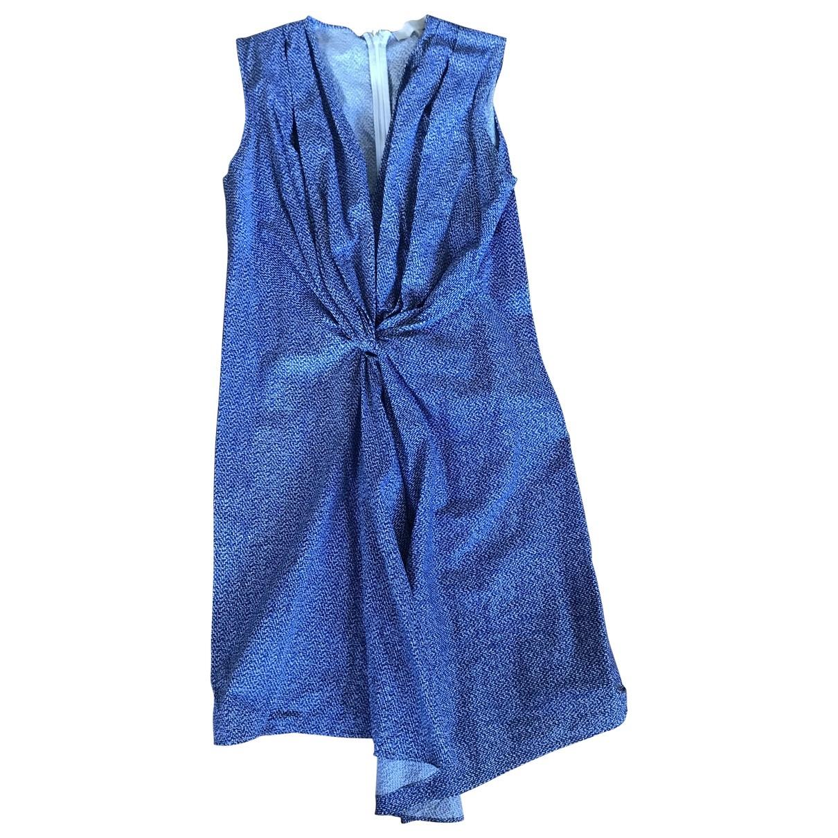 Vanessa Bruno \N Kleid in  Blau Baumwolle