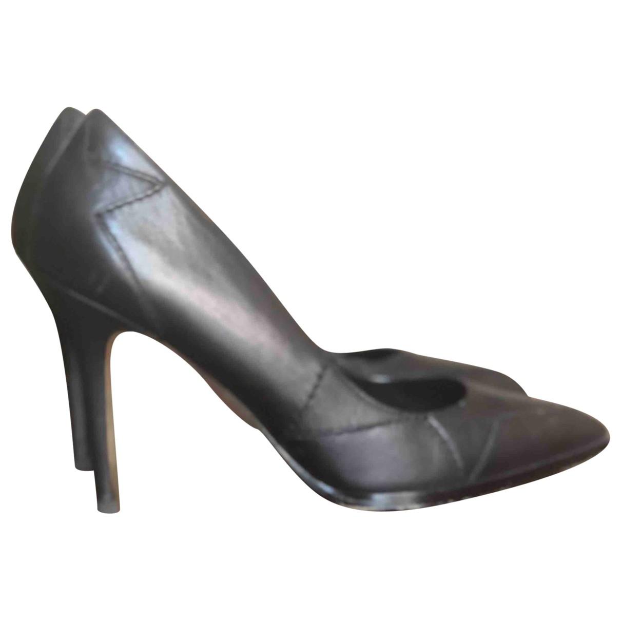 Diesel \N Black Leather Espadrilles for Women 39 EU