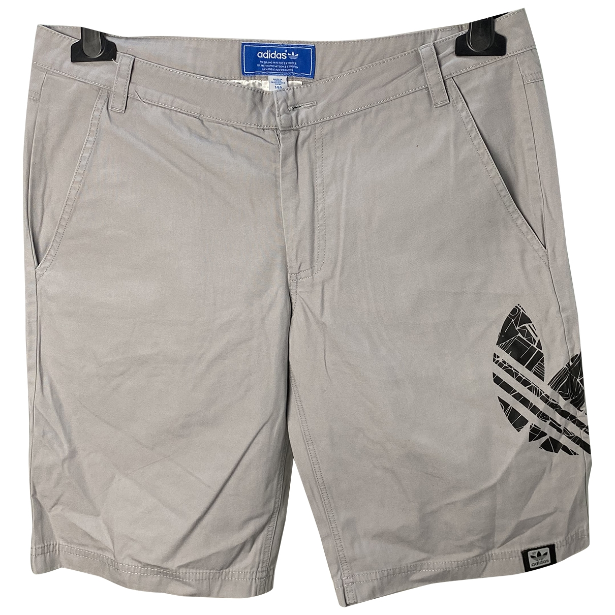 Adidas \N Grey Cotton Shorts for Kids 14 years - S FR