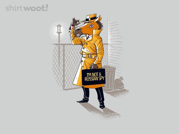 I'm Not A Russian Spy T Shirt