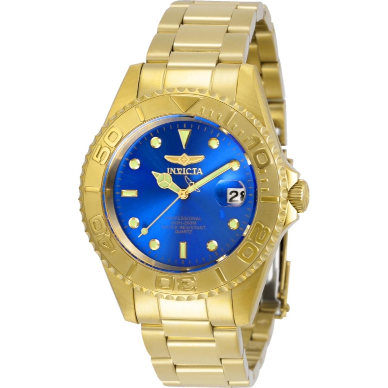 Invicta Men's Pro Diver 29940 Gold Stainless-Steel Quartz Dress Watch