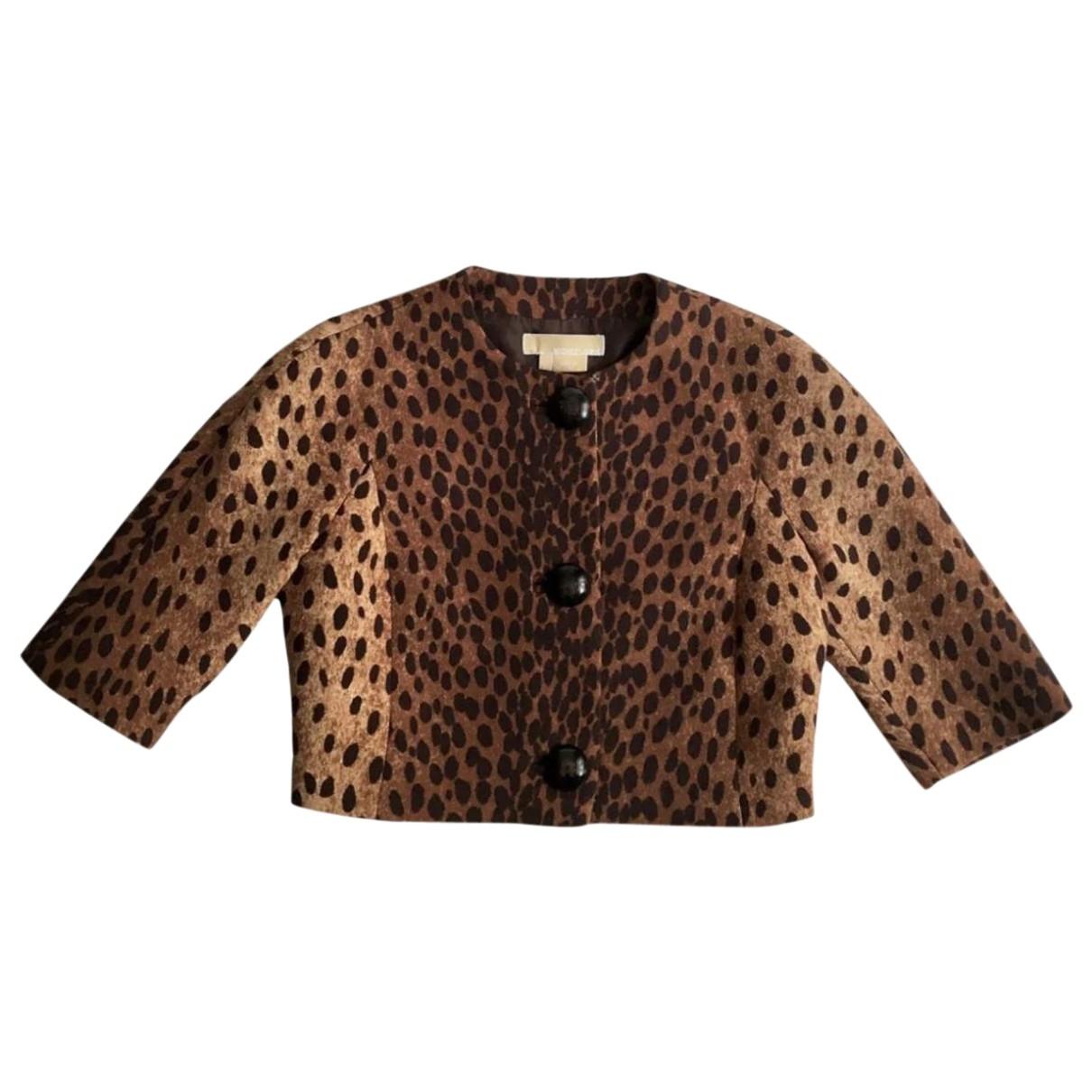 Michael Kors \N Brown Wool jacket for Women XS International