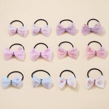 12 Stuecke Kleinkind Maedchen Haarband mit Schleife Dekor