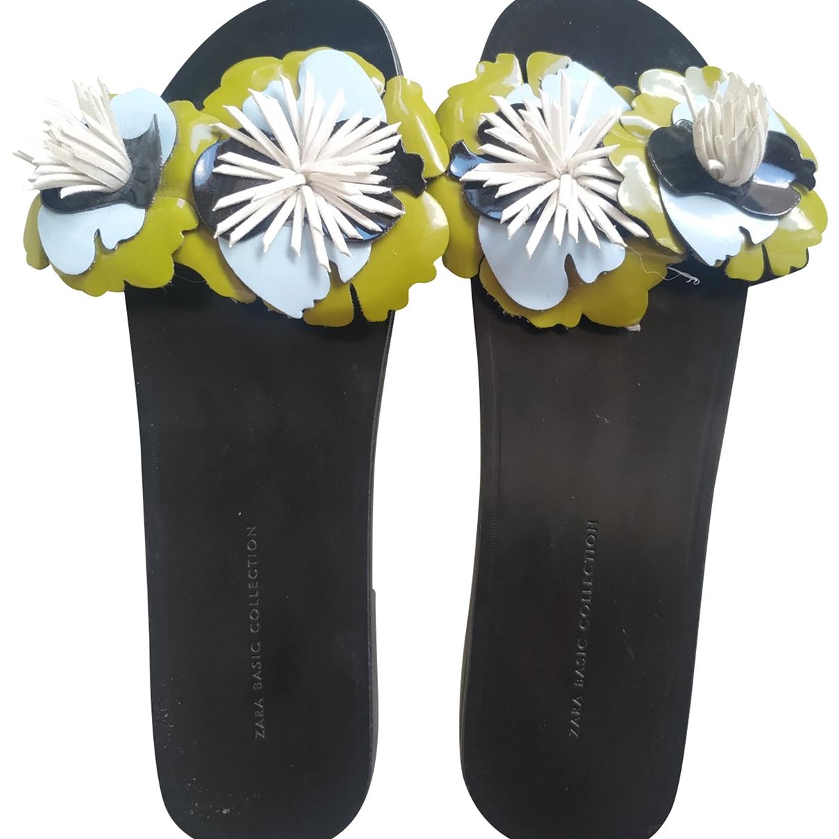 Zara \N Black Sandals for Women 36 EU
