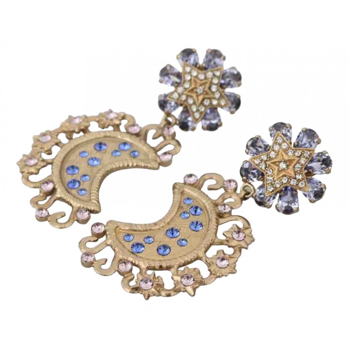Dolce & Gabbana - Boucles doreilles   pour femme en cristal - multicolore