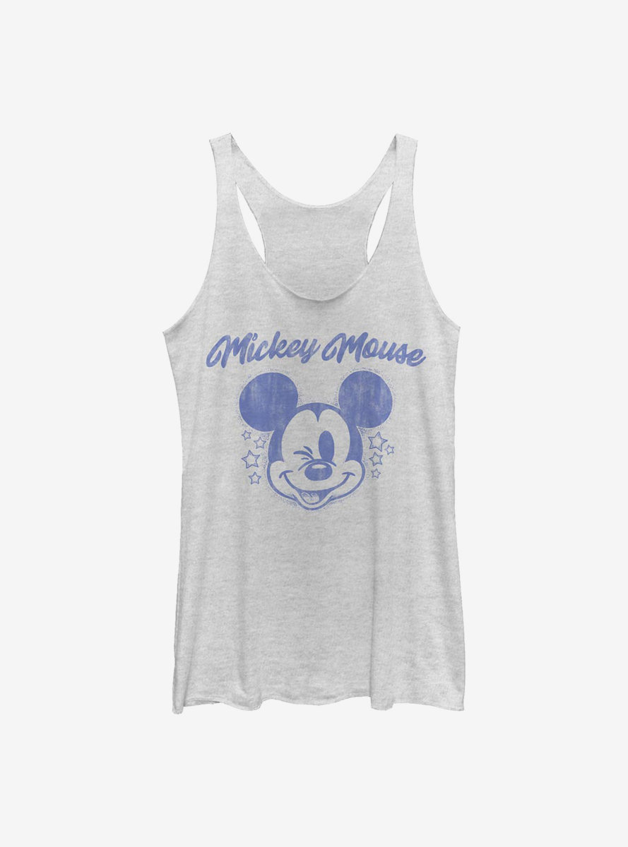 Disney Mickey Mouse Starry Mickey Womens Tank Top