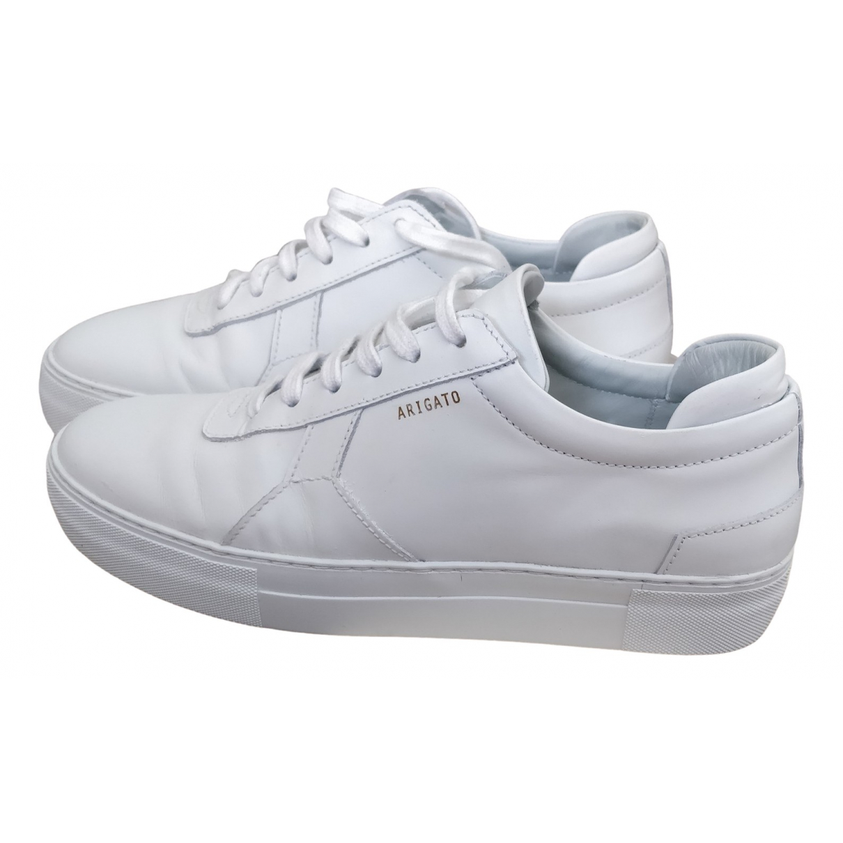 Axel Arigato \N White Leather Trainers for Women 41 EU