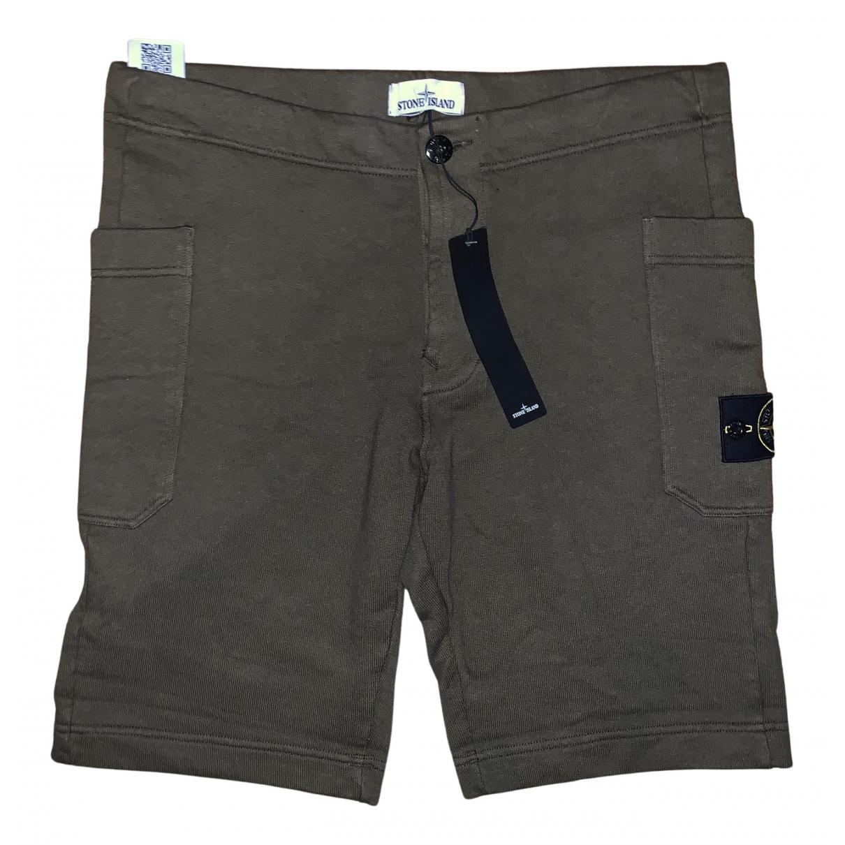 Stone Island \N Shorts in  Gruen Baumwolle