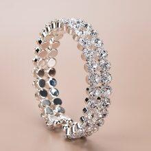 Brazalete con diamante de imitacion