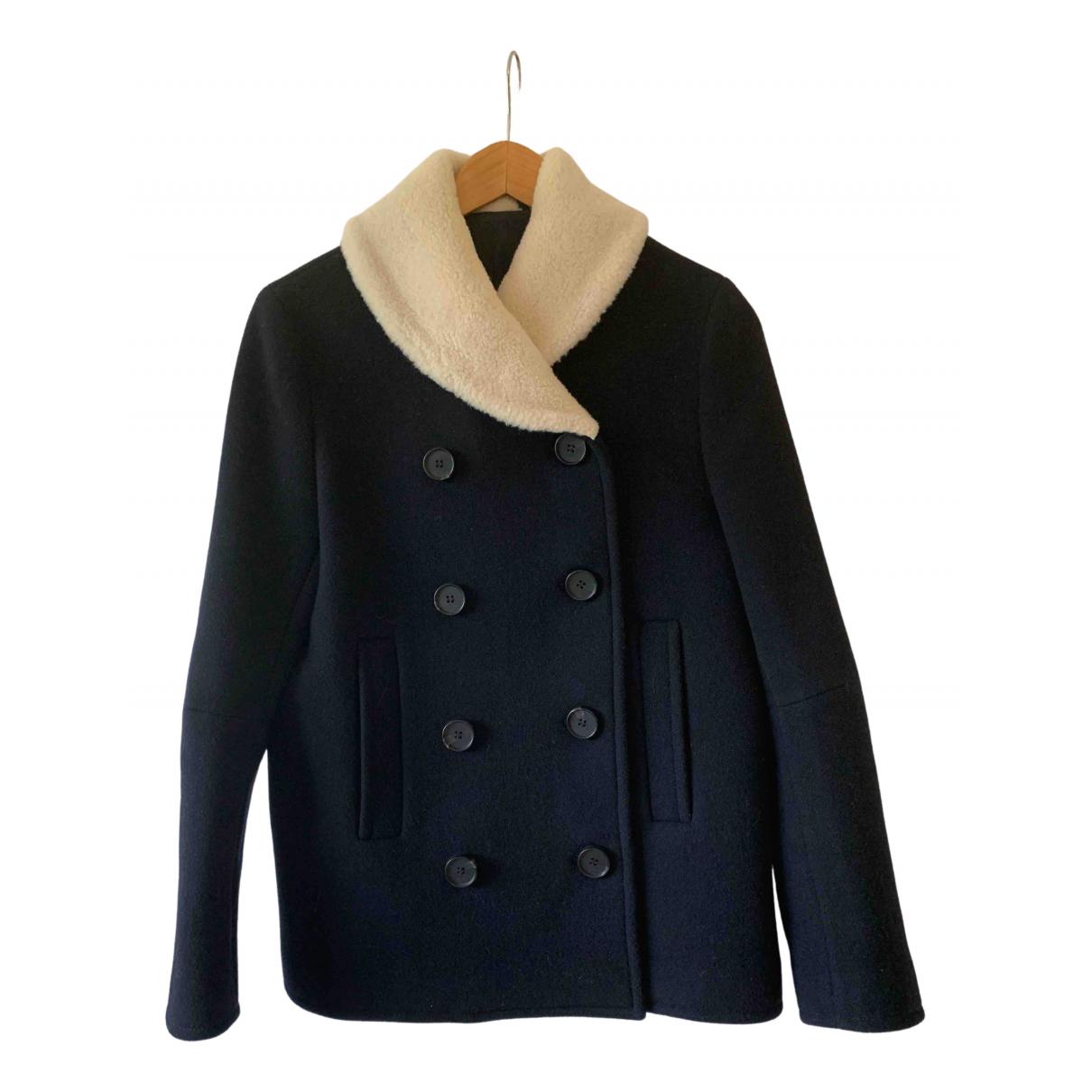 Jigsaw \N Navy Wool jacket for Women 10 UK