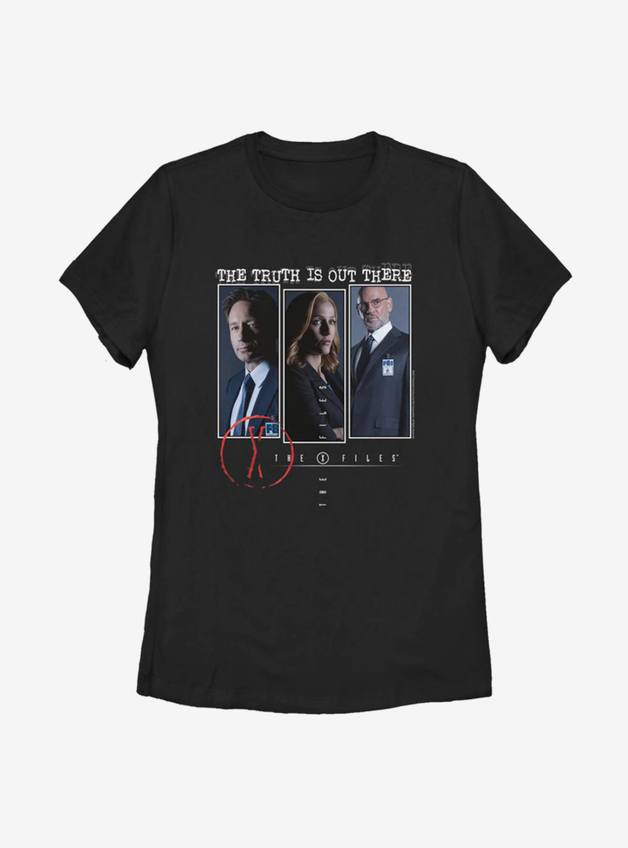 The X-Files The Truth Is Out There Boxup Womens T-Shirt