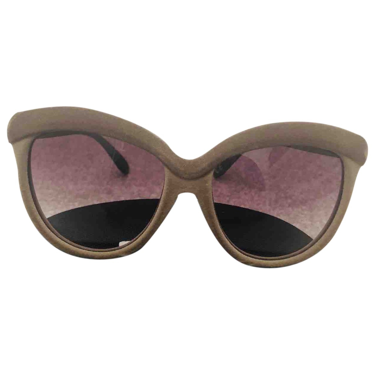 Italia Independent \N Khaki Sunglasses for Women \N