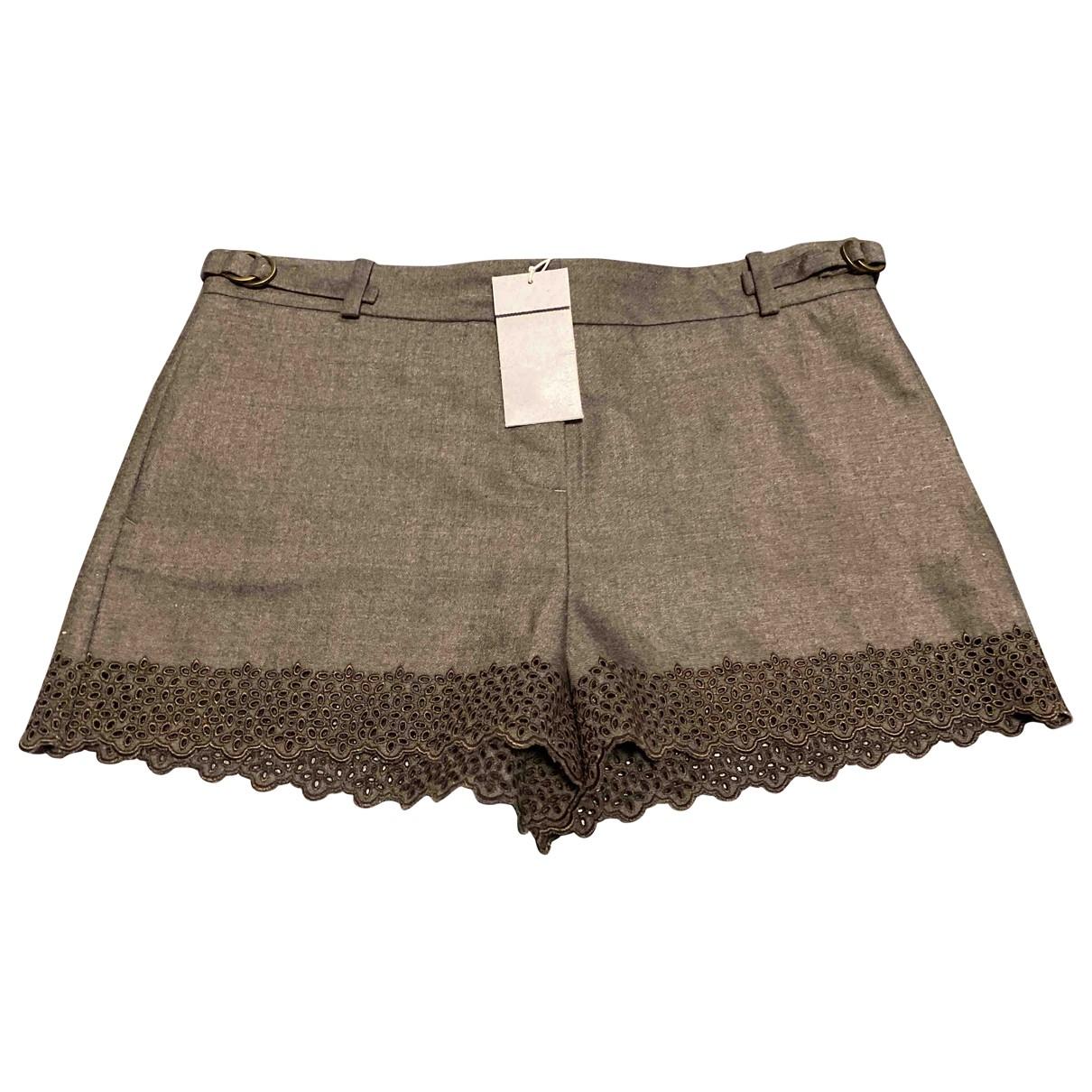 Vanessa Bruno \N Shorts in  Braun Wolle