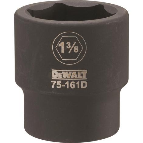 DeWalt 3/4 Drive X 1-3/8 6PT Standard Impact Socket