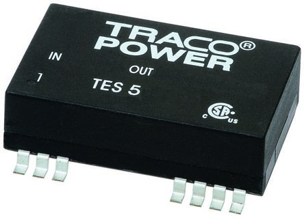 TRACOPOWER TES 5 5W Isolated DC-DC Converter Surface Mount, Voltage in 18 → 36 V dc, Voltage out 12V dc
