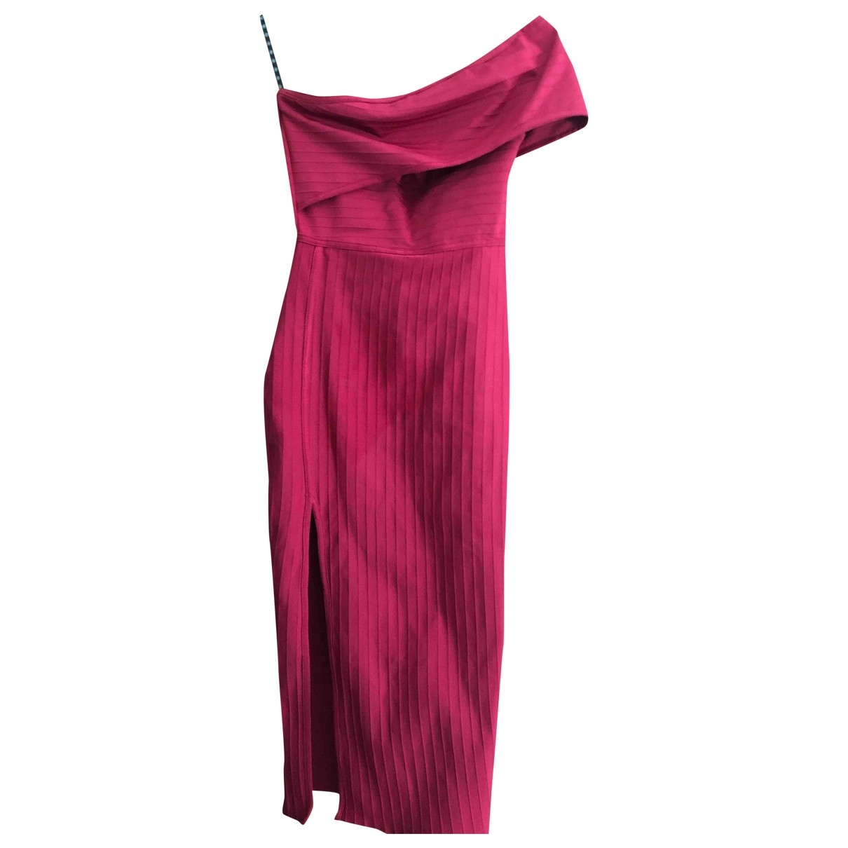 Non Signé / Unsigned \N Red dress for Women 34 FR