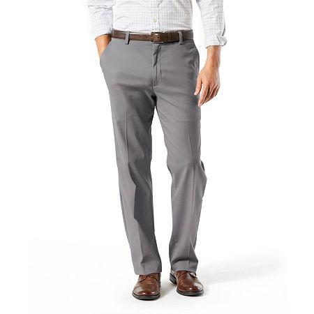 Dockers Big & Tall Classic Fit Easy Khaki Pants D3, 50 30, Gray
