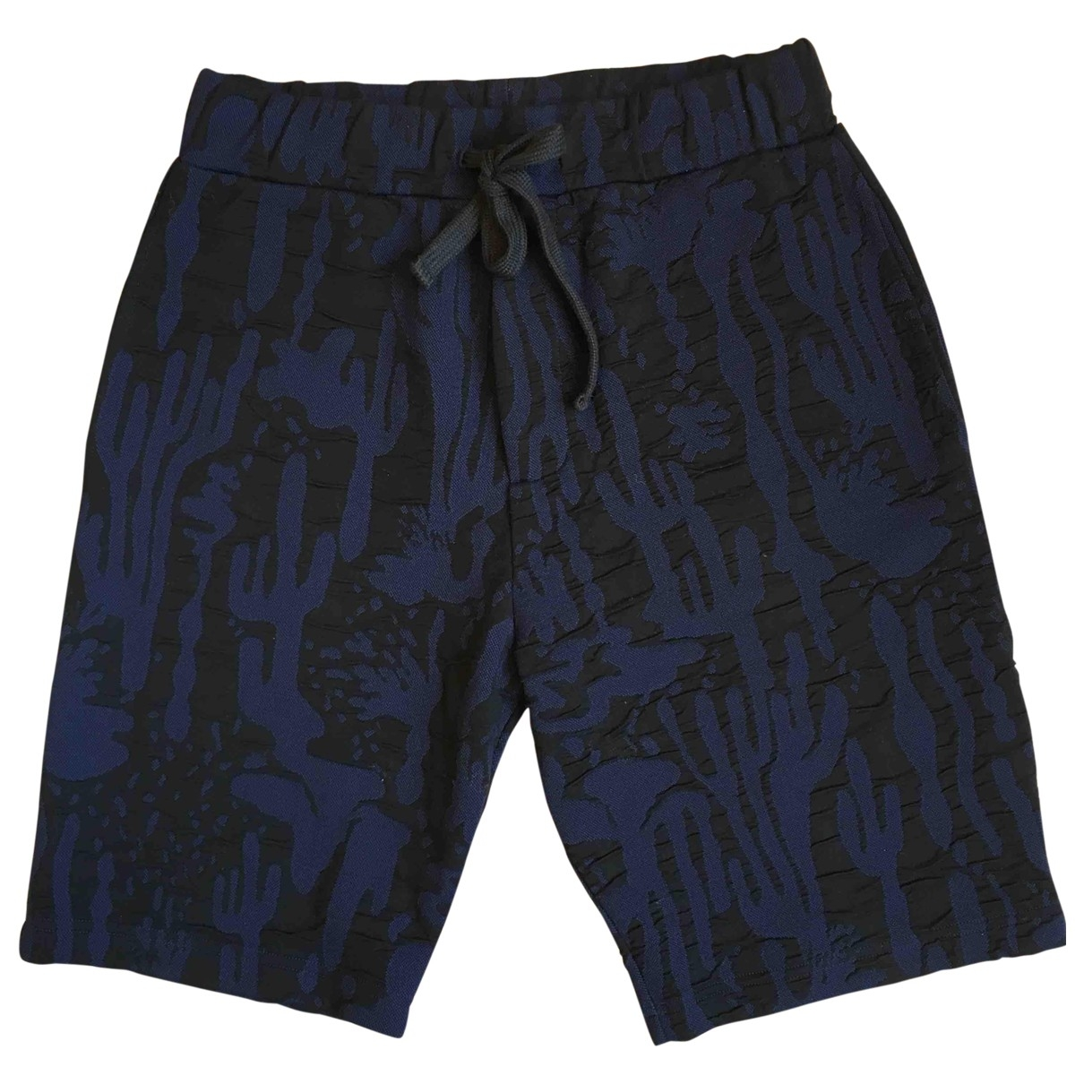Kenzo \N Shorts in  Blau Synthetik