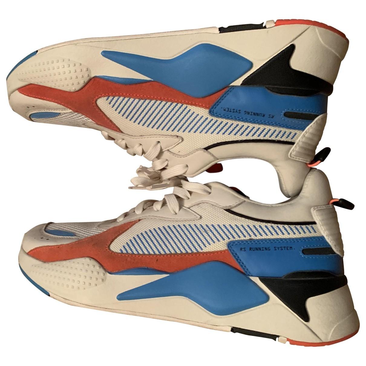 Puma - Baskets   pour homme en cuir - multicolore