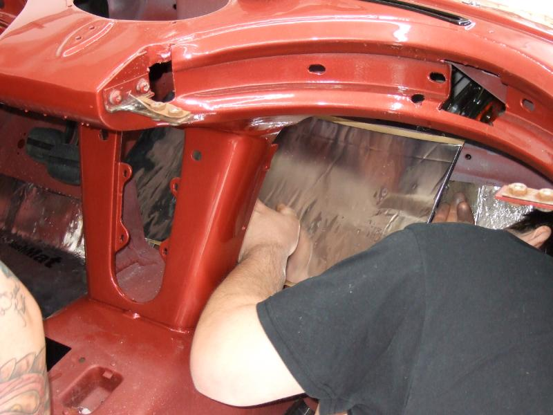 Hushmat 627632 Firewall Custom Insulation Kit Chevrolet Corvette 1963-1967