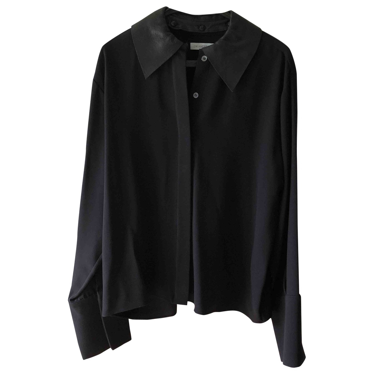 J.w. Anderson \N Top in  Marine Polyester