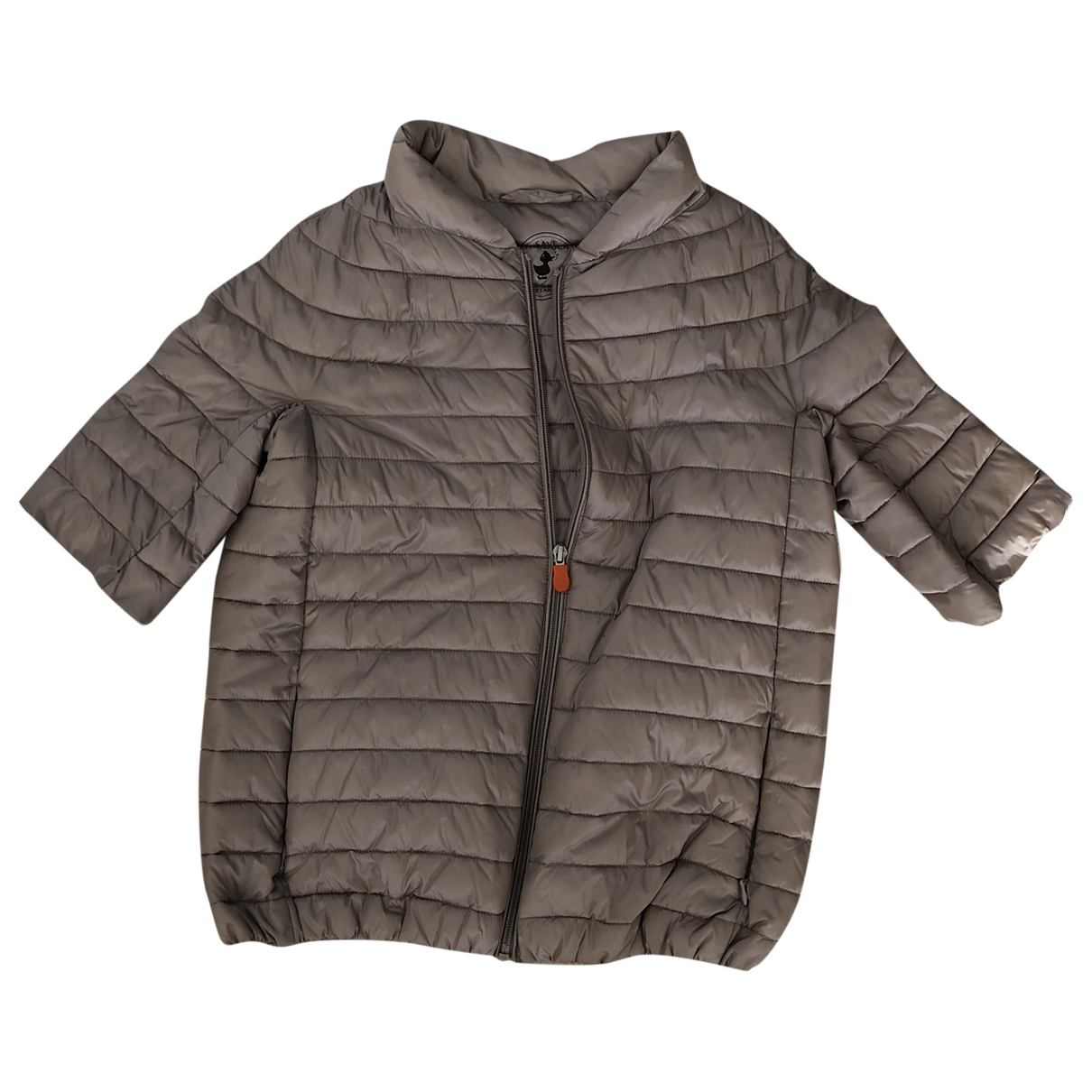 Save The Duck \N Jacke, Maentel in  Beige Polyester