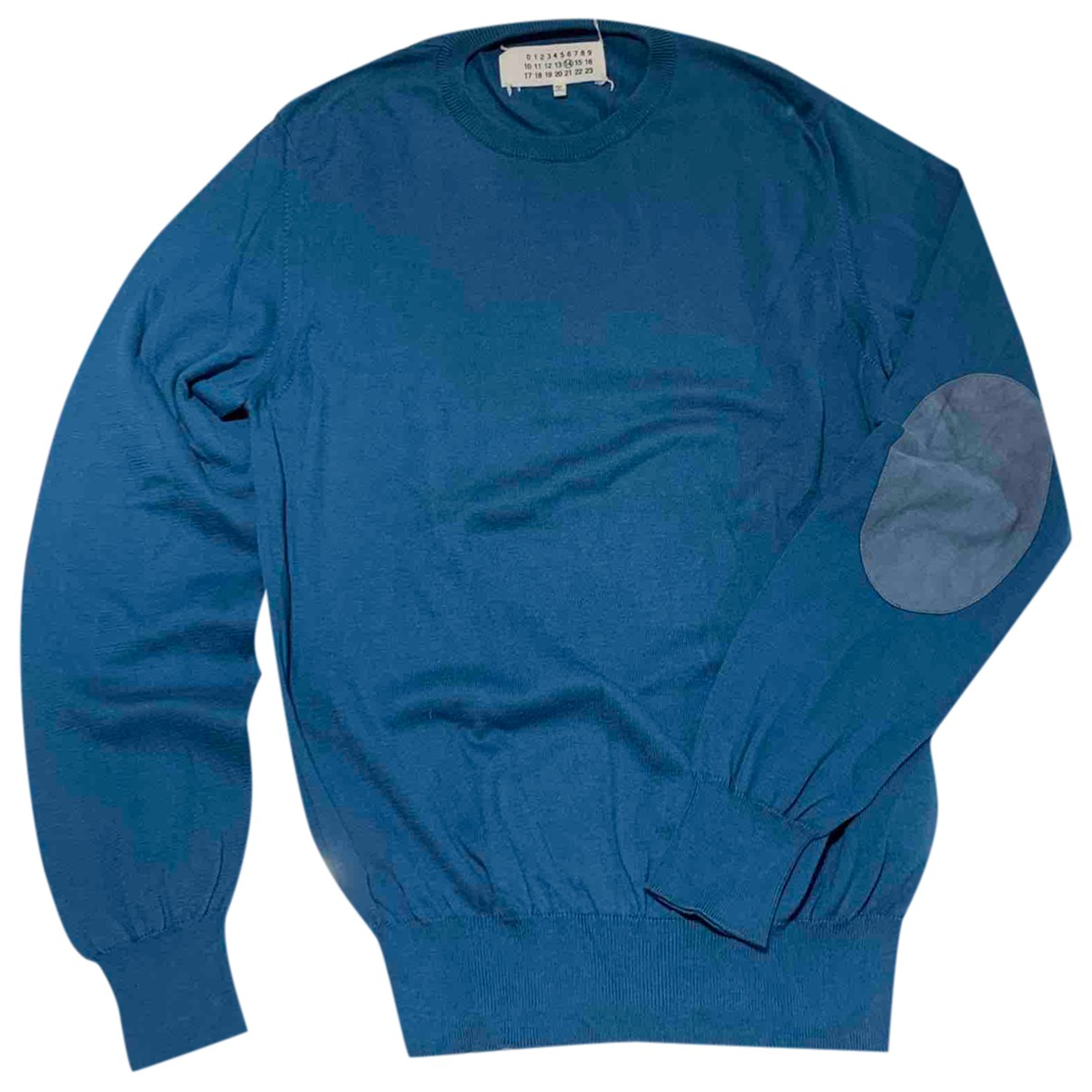 Maison Martin Margiela \N Pullover.Westen.Sweatshirts  in  Blau Baumwolle