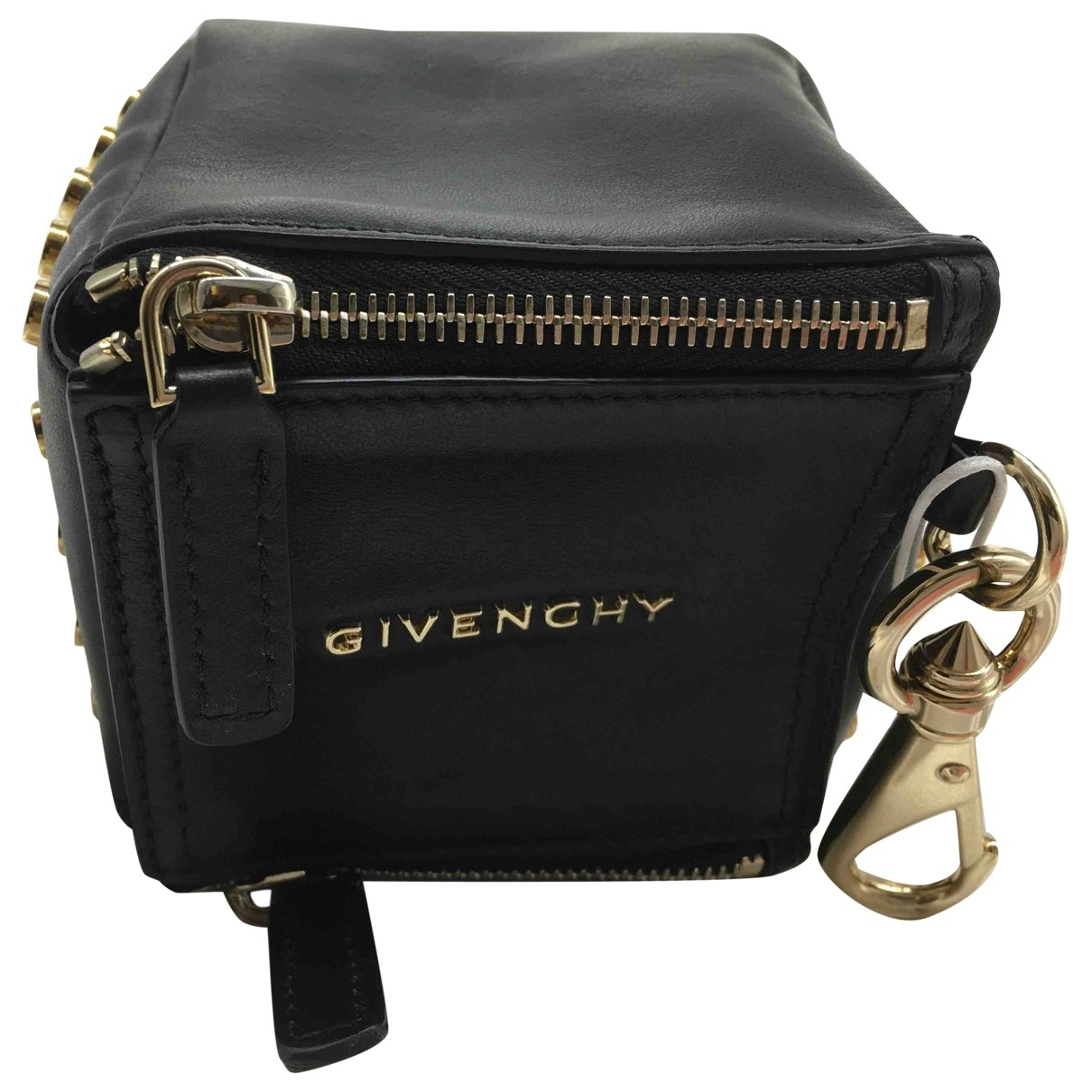 Givenchy \N Black Leather Purses, wallet & cases for Women \N