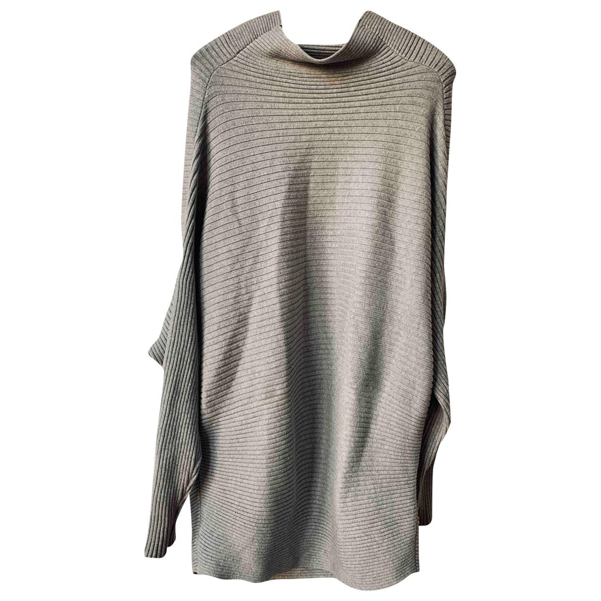 Designers Remix - Robe   pour femme en coton - gris