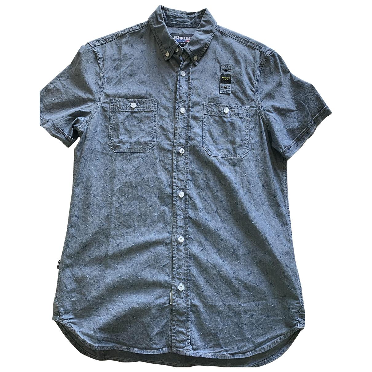 Blauer - Chemises   pour homme en coton