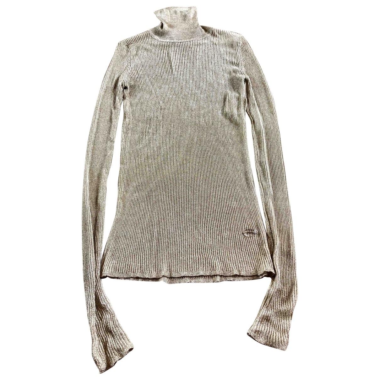 Vionnet \N Pullover in  Gold Viskose