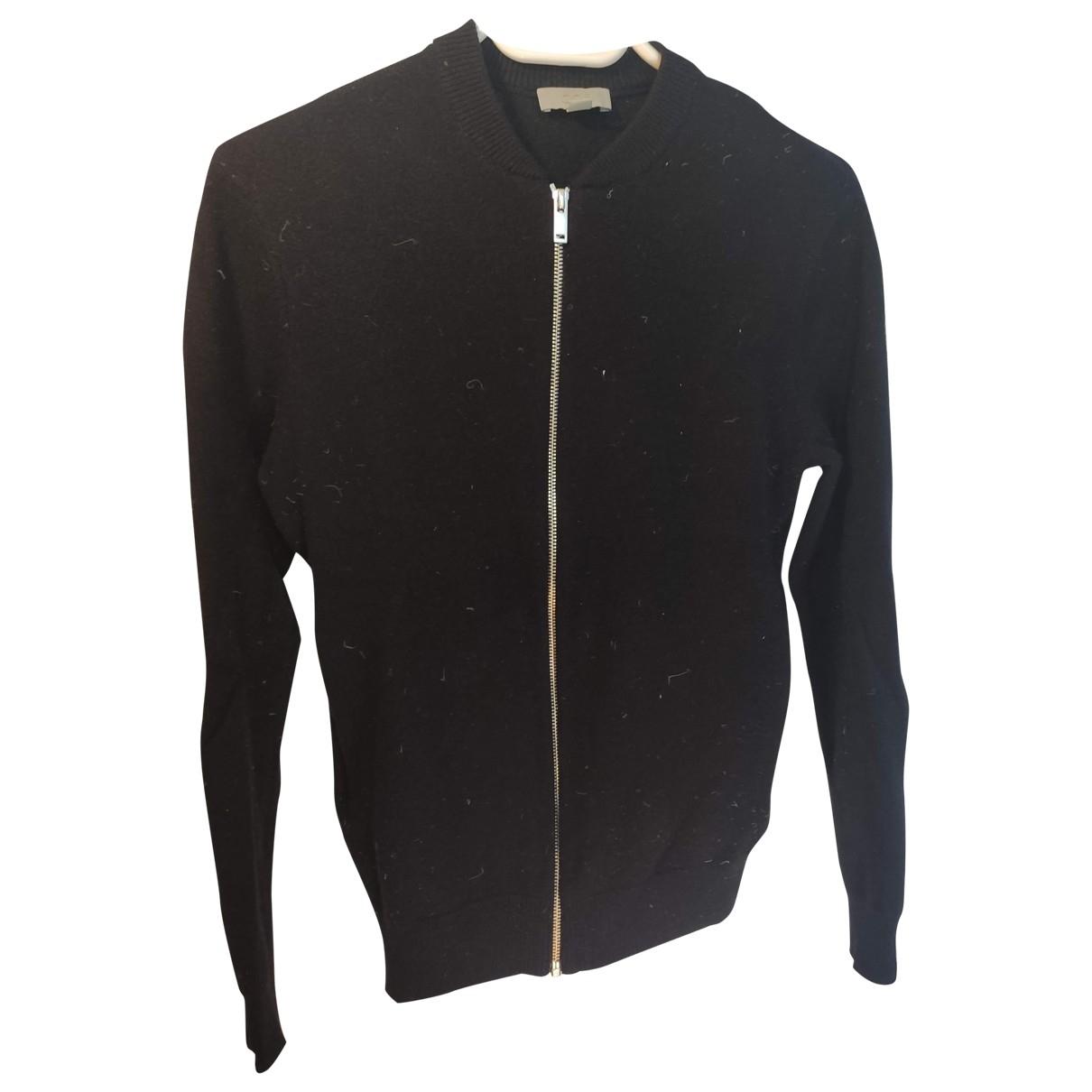 Cos \N Pullover.Westen.Sweatshirts  in  Marine Wolle