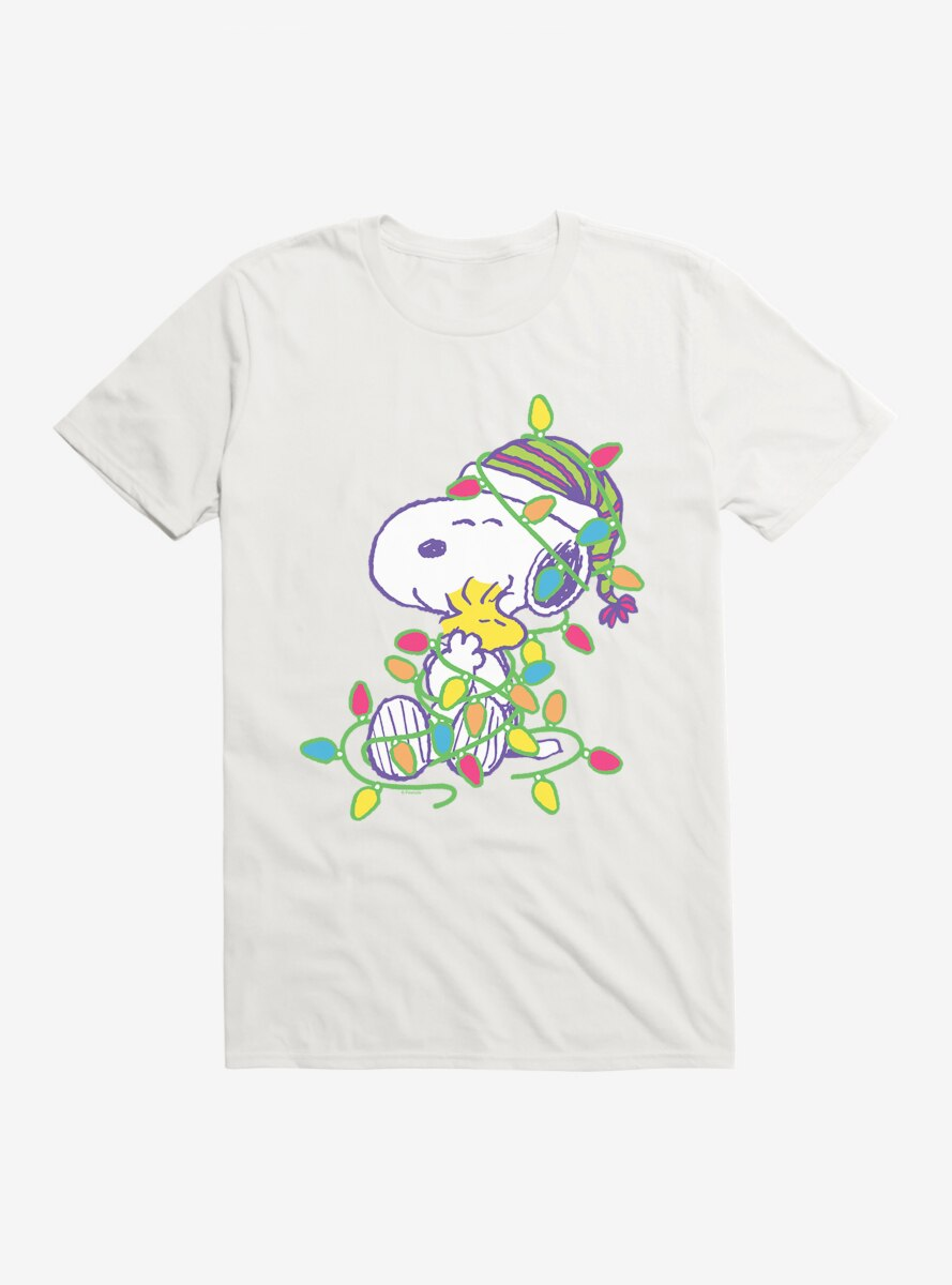 Peanuts Retro Pop Snoopy And Woodstock T-Shirt