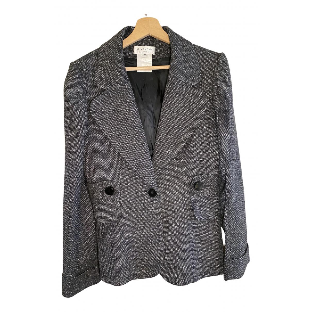 Givenchy - Veste   pour femme en laine - gris