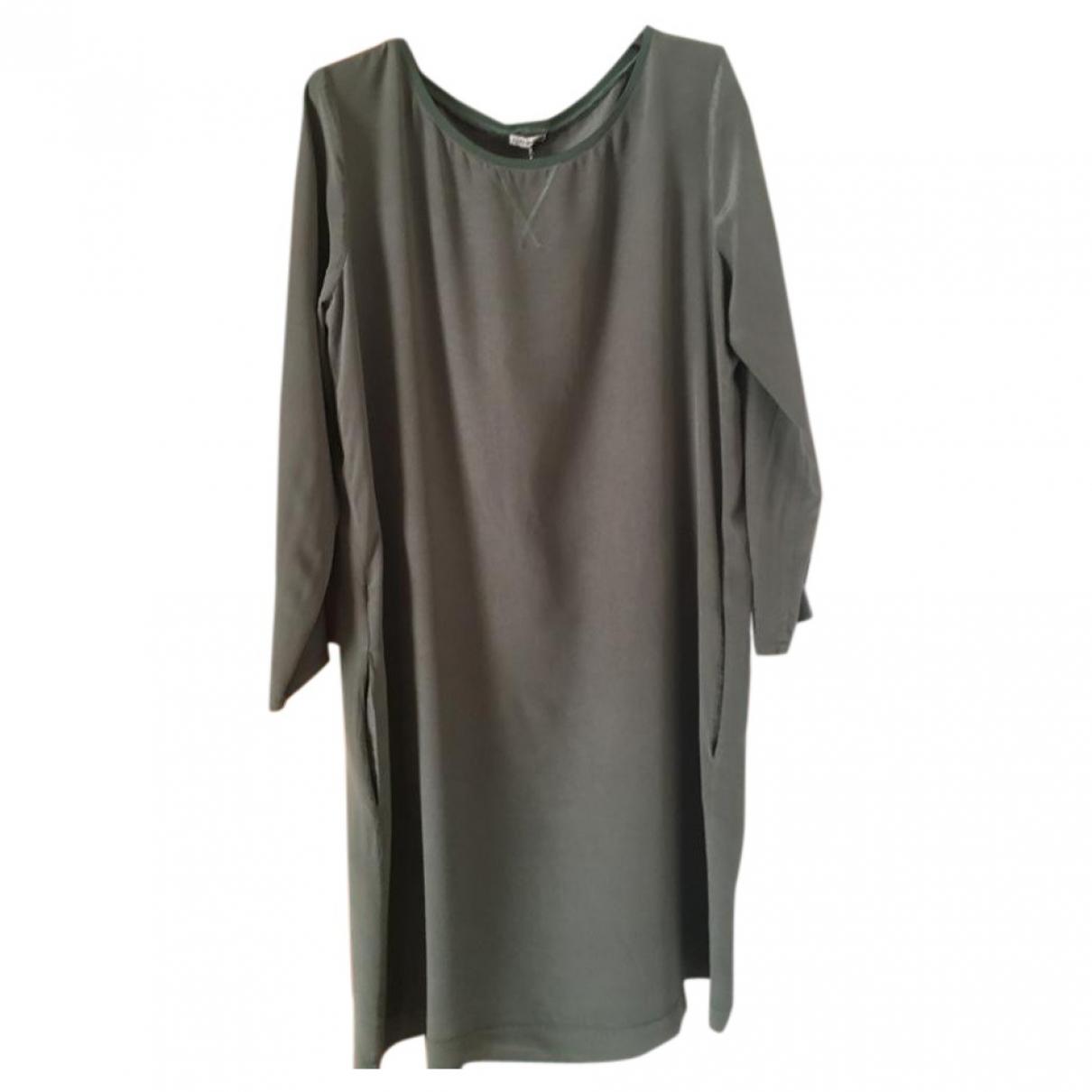 Maliparmi - Robe   pour femme en soie - vert