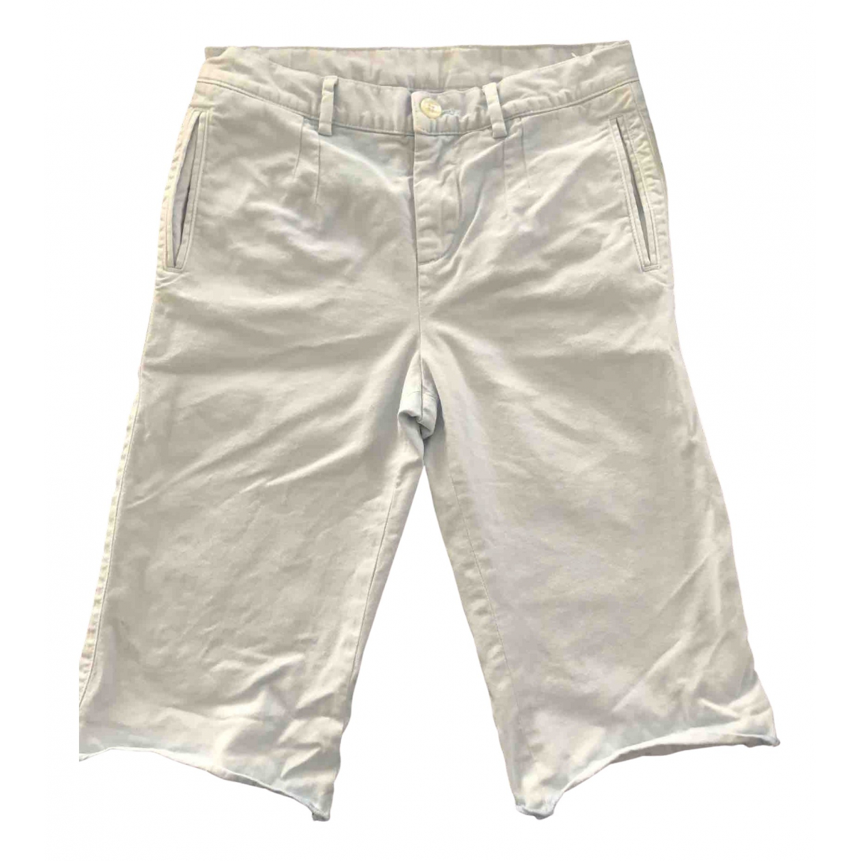 Dolce & Gabbana \N Blue Cotton Trousers for Kids 8 years - up to 128cm FR