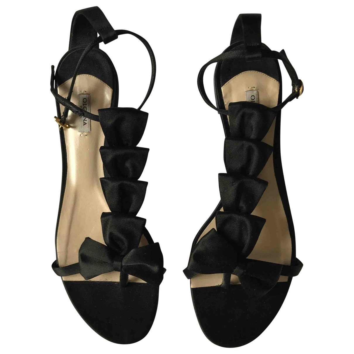 Olgana \N Black Sandals for Women 40 EU
