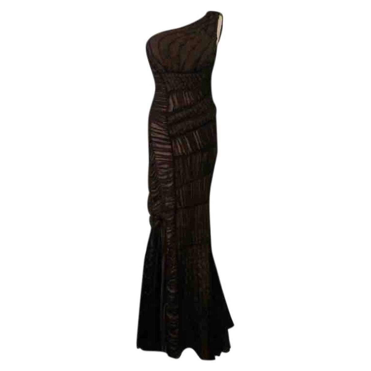 Alberta Ferretti - Robe   pour femme en soie - noir