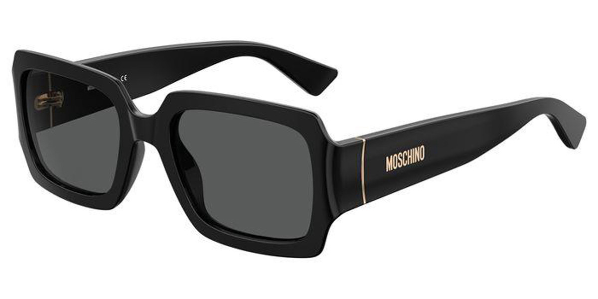 Moschino MOS063/S 807/IR Mens Sunglasses Black Size 53