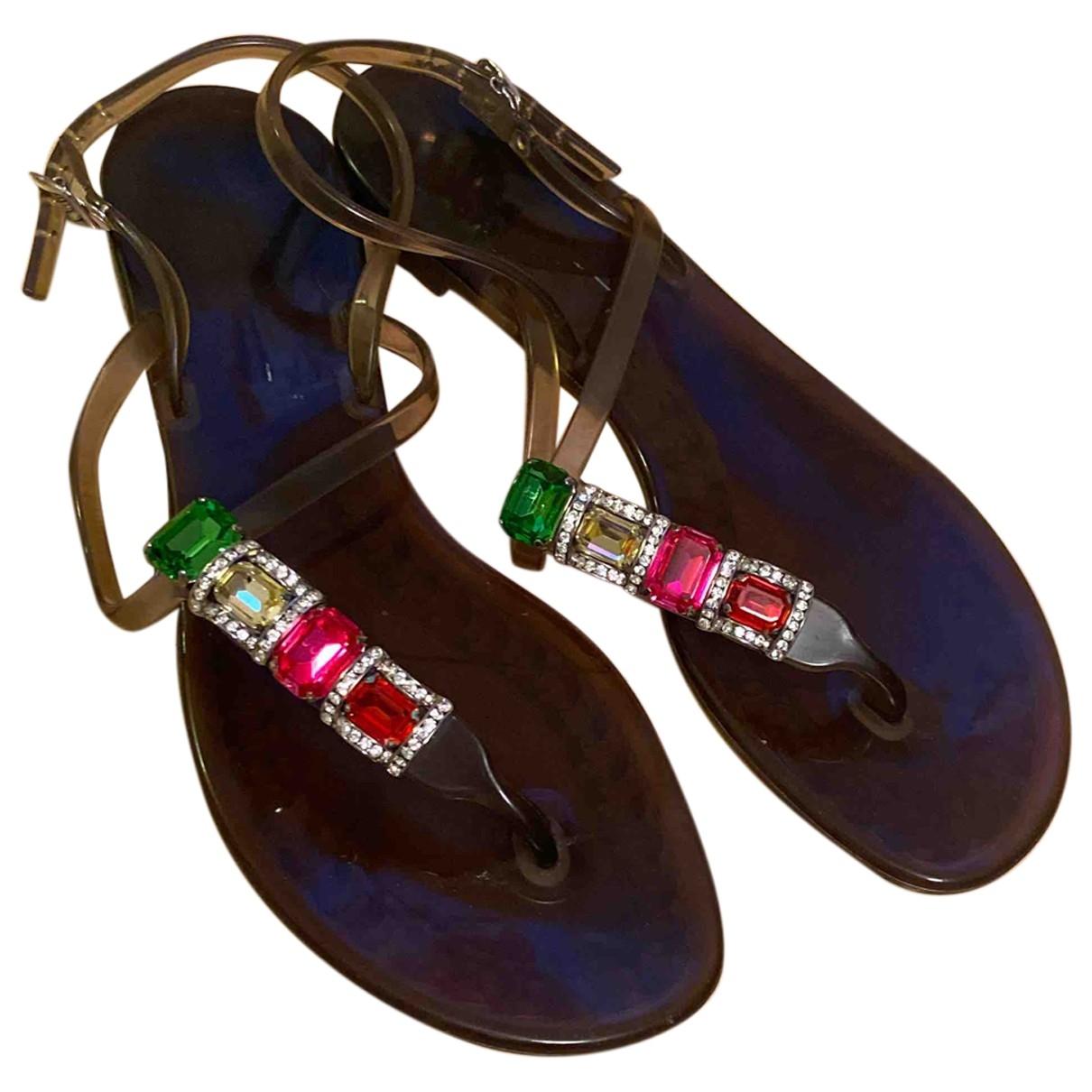 Casadei - Sandales   pour femme - marron