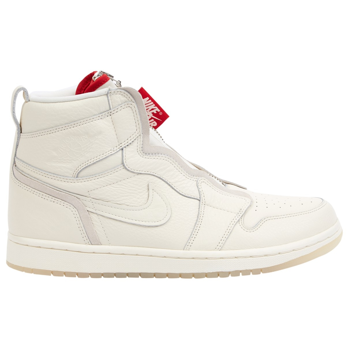Nike \N White Leather Trainers for Women 9.5 US