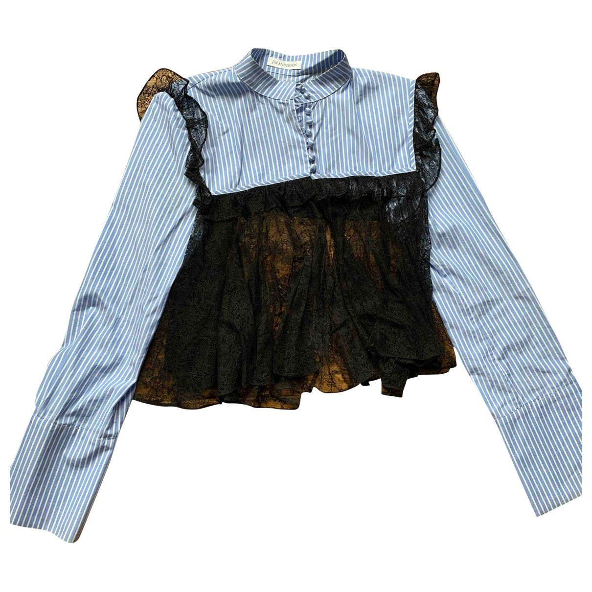 J.w. Anderson \N Blue Lace  top for Women 8 UK