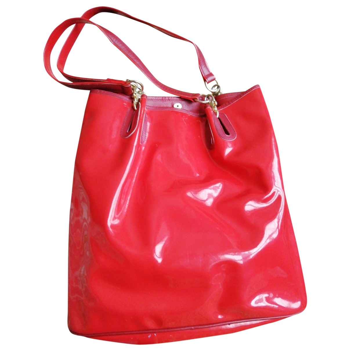 Non Signé / Unsigned \N Red handbag for Women \N