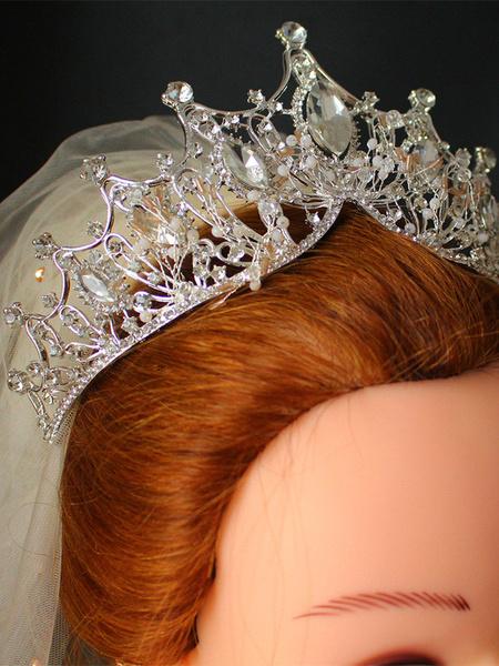 Milanoo Wedding Headpieces Headwear Accessory Metal Hair Accessories For Bride