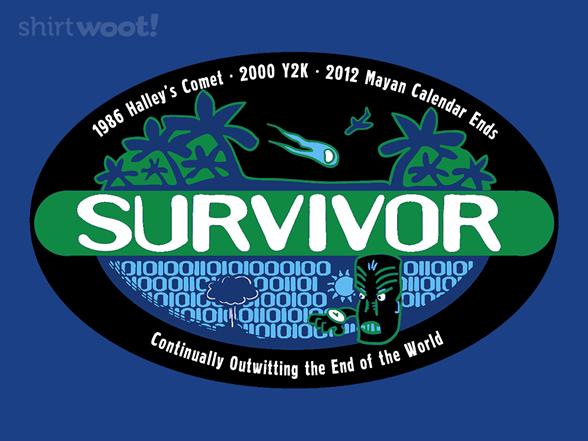 Obsessive Survivor T Shirt