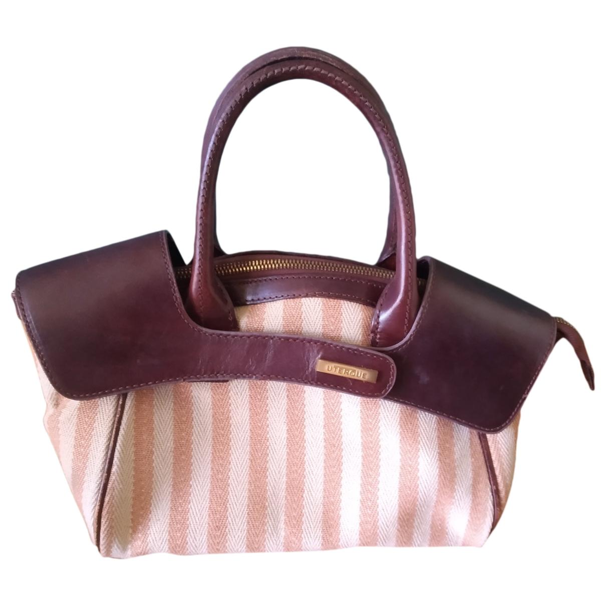 Uterque \N Handtasche in Baumwolle